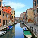 Calli of Venice by annalisa bianchetti