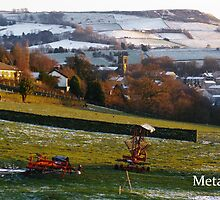 Snowy Holmfirth Landscape by MetamorphosisRS