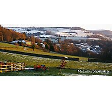 Snowy Holmfirth Landscape Photographic Print
