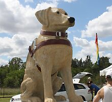 Guide Dog Effigy  by Vicki Childs