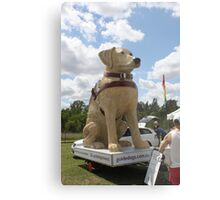 Guide Dog Effigy  Metal Print