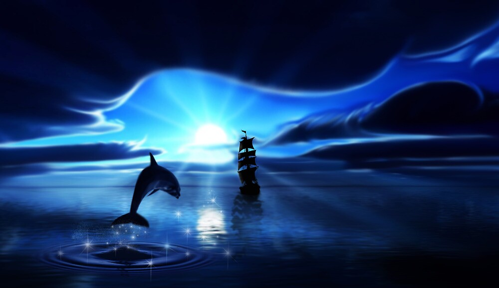 Moon Light Calm by Cliff Vestergaard
