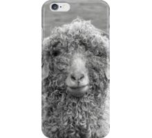Angora Goat (II) iPhone Case/Skin