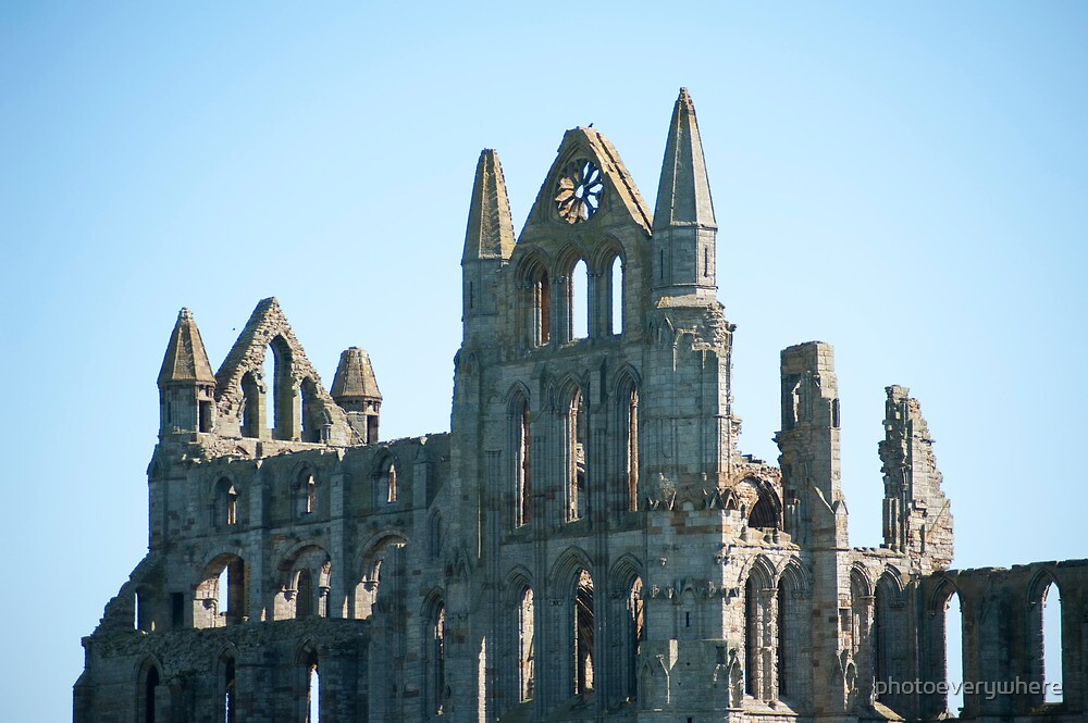 Ruins of Whitby Abbey by photoeverywhere