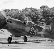 Spitfire Taxi by Mike Rivett