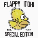 Flappy D'oh! (Sticker Version) by Rodrigo Marckezini
