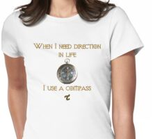 Direction in Life Womens Fitted T-Shirt