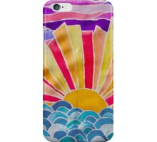 Sunset Explosion iPhone Case/Skin