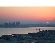 Doha Sunset Photographic Print