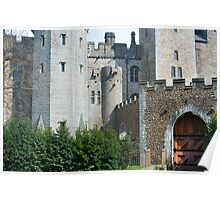 Cardiff Castle and Barbican Poster
