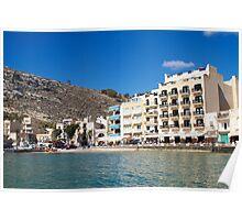Xlendi Bay - Gozo Poster