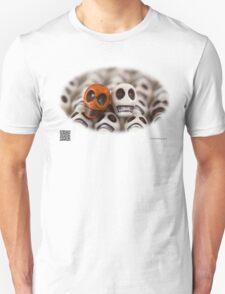 Burnt Orange And White T-Shirt