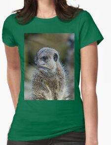 Meerkat Trio Womens Fitted T-Shirt