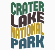 Crater Lake National Park Kids Tee