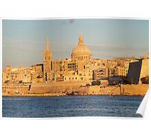 Valetta - Malta Poster
