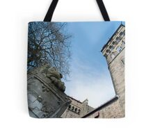 Cardiff Castle Animal Wall Tote Bag