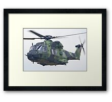 Finnish Army Helicopter Framed Print