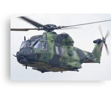Finnish Army Helicopter Canvas Print