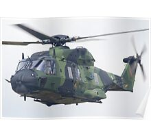 Finnish Army Helicopter Poster