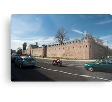Cardiff Castle walls Metal Print