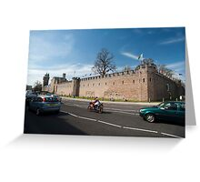 Cardiff Castle walls Greeting Card