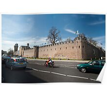 Cardiff Castle walls Poster