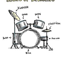 Sound of Drumming - Drumset by chrisbears