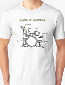 Sound of Drumming - Drumset Unisex T-Shirt