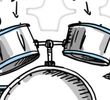 Sound of Drumming - Drumset Sticker