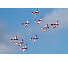 Swiss Air Force display team Photographic Print