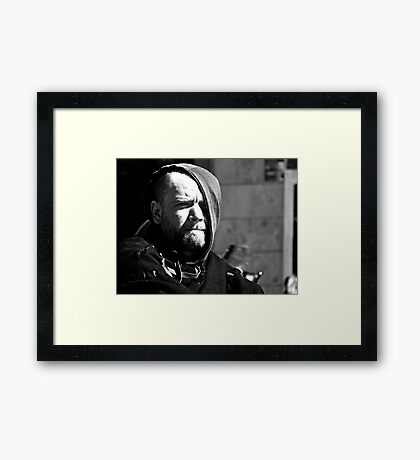 That Face on the Street ... Framed Print