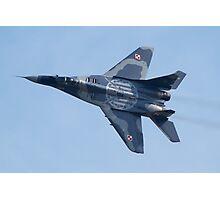 Polish Air Force Mig 29 Photographic Print