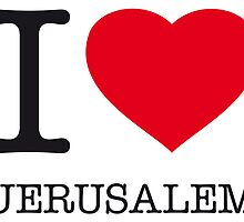 I ♥ JERUSALEM by eyesblau
