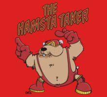 The Hamsta Taker - Hamster Wrestling Kids Clothes
