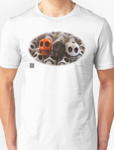 Orange Black And White T-Shirt