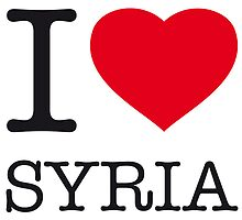 I ♥ SYRIA by eyesblau