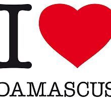 I ♥ DAMASCUS by eyesblau