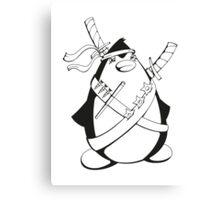Ninjuin - The Ninja Penguin Canvas Print