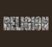 RELIGION - a flock of sheep by atheistcards