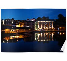 Exeter Quay - Evening Poster