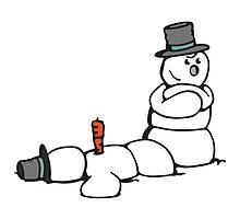 Snowman Killer by chrisbears