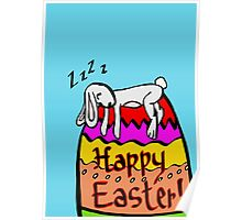 Zzz Easter Poster