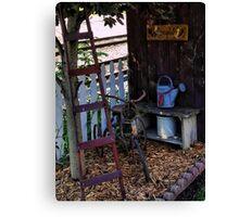 Garden Toys Canvas Print