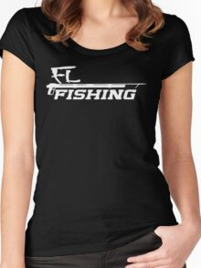 Spear Gun FL Fishing Women's Fitted Scoop T-Shirt
