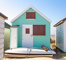 Peppermint beach hut life by Zoe Power