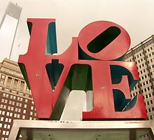 LOVE Park in Philadelphia by Allison Ostertag