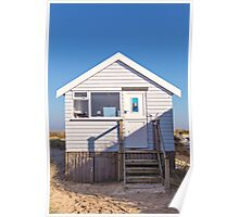 Sail away with me beach hut Poster