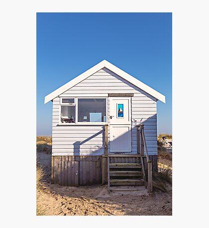 Sail away with me beach hut Photographic Print