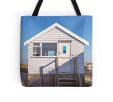 Sail away with me beach hut Tote Bag