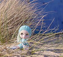 Sunbathing in the sand dunes by Zoe Power